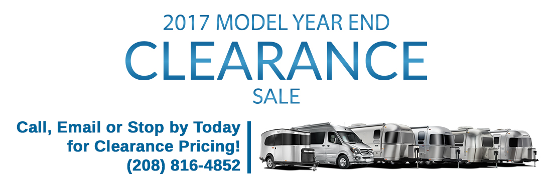 Model Year-End Clearance Sale
