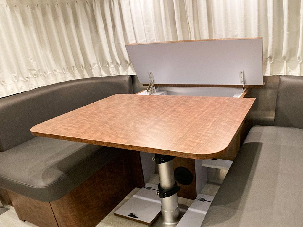 Dinette Table Storage
