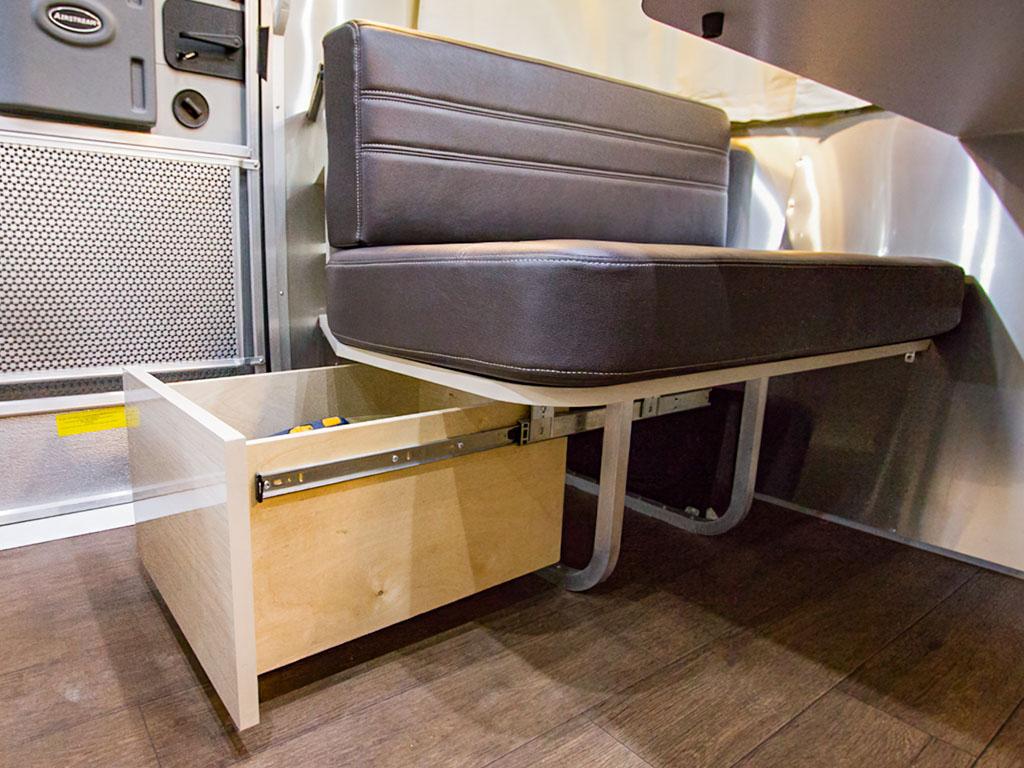 Under Lounge Storage