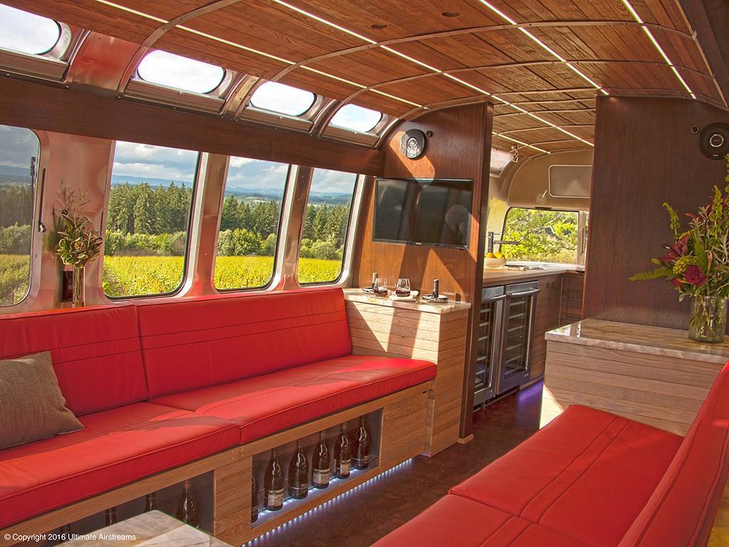 Airstream Mobile Wine Bar